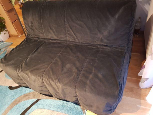 Sofa rozkladana czarna