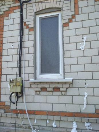 Утепление стен домов пеноизолом.