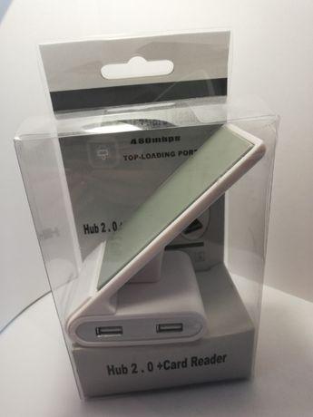 combo hub 2.0 Card reader подставка под телефон кардридер хаб