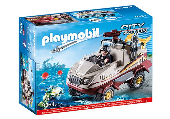 Playmobil 9364 Carro Anfibio - NOVO