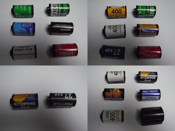 cápsulas rolos fotografia colecionadores