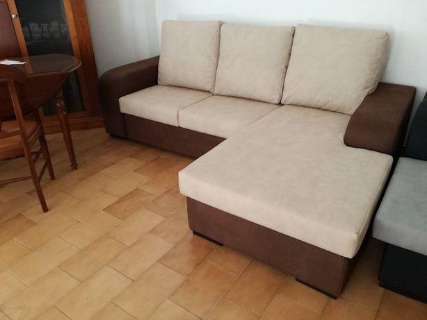 Sofá Redondela novo de fabrica com 230 cm de largura com chaise longue