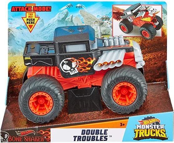 HOT WHEELS Monster Truck 1:24 Bone Shaker GCG07