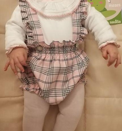 Conjunto menina 6 meses
