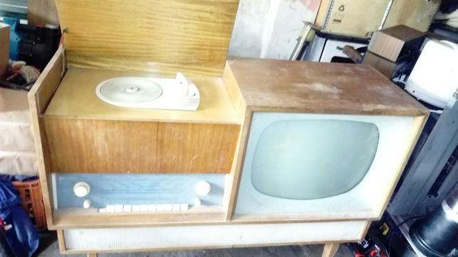 Telewizor +radio+adapter