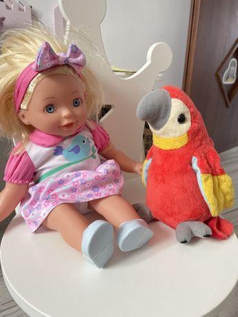 Lalka z papuga hh poland