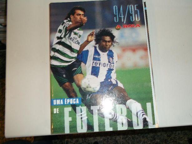 livro uma epoca de futebol