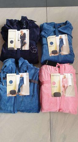 Nowe dresy welurowe damskie rozmiary ,L,XL