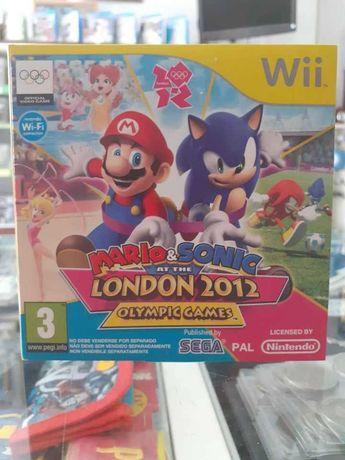 Mario e Sonic London 2012 Jogos Olímpicos Wii