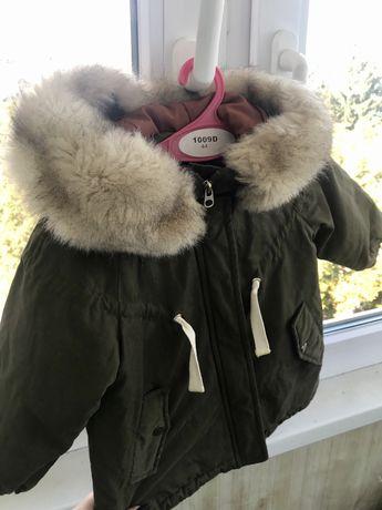 Курточка парка Zara baby
