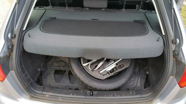 PÓŁKA TYLNA bagażnika z siatką Audi A3 8P 2008 5drzwi Sportback