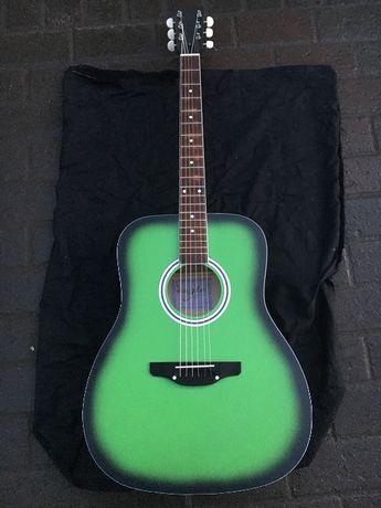 Продам новую акустическую гитару Eagle 02