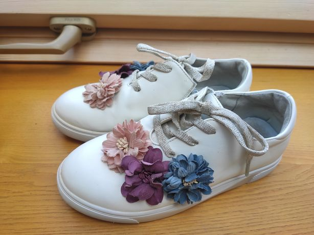 Кожаные кроссовки, туфли 32 р. (20 см.)