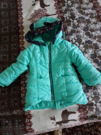 Курточка зима на дівчинку