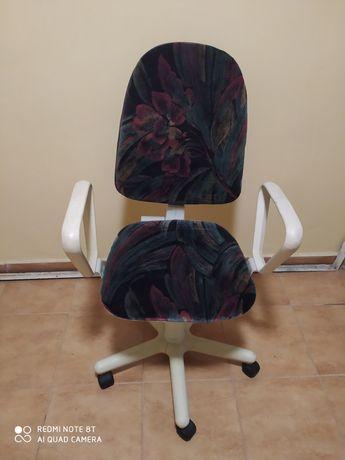 Fotel obrotowy duży
