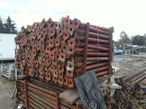 Stemple metalowe podpory stropowe szalunki doki dźwigary importer