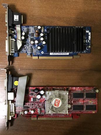 2 видеокарты Radeon x600pro и Asus Gigabyte EN6200T