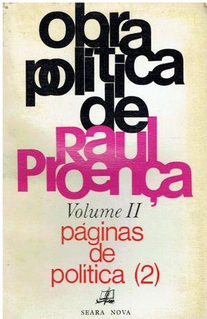 1540 Obra política de Raul Proença: páginas de política Vol 2