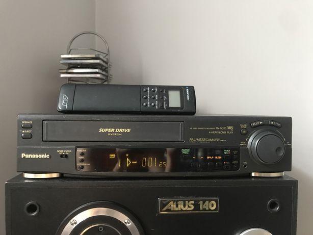 Magmetowid odtwarzacz VHS panasonic NV-SD20 pilot