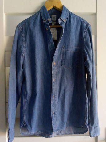 Nowa jeansowa koszula H&M S