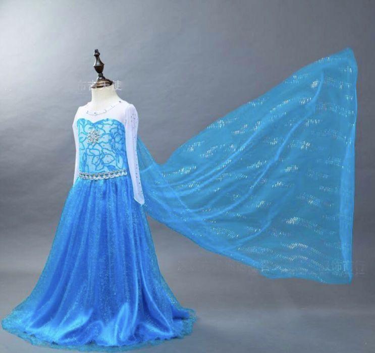 Карнавальный костюм платье Эльзы Elsa frozen холодное сердце Киев - изображение 1
