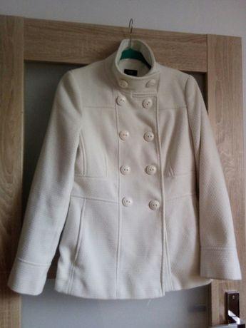 Płaszcz biały krótki FF 38 stan bdb