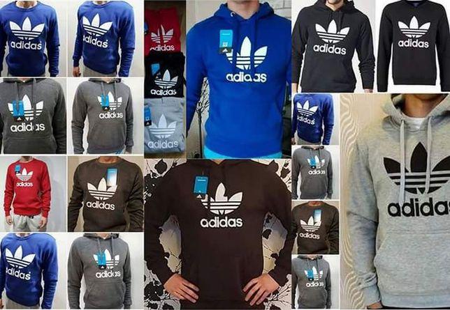 Bluzy męskie z logo Adidas Nike Levis kolory M-XXL!!!