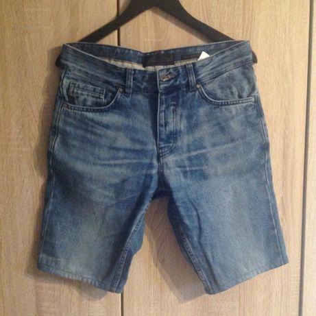 SPODENKI z krótka nogawką RESERVED jeans, męskie, ROZMIAR 30