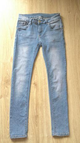 Jeansy spodnie rurki niebieskie nowe roz M