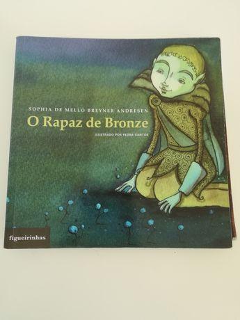 Livro O Rapaz de Bronze