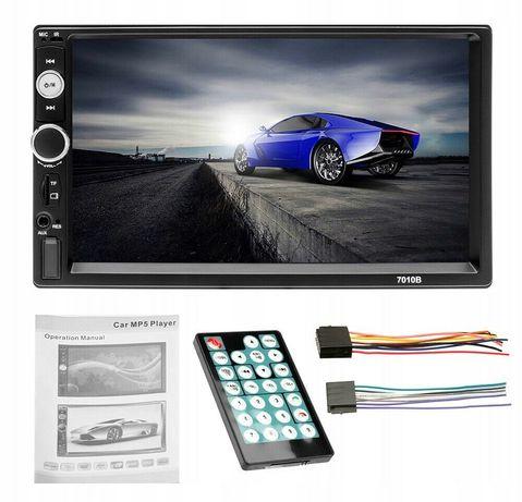 Radio samochodowe 2DIN MP5 MP3 bluetooth ekran dotykowy odtwarzacz FM