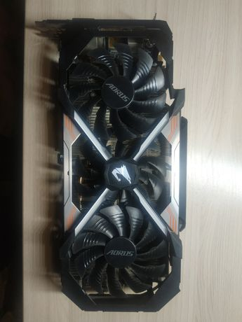 Продам GTX 1080ti aorus