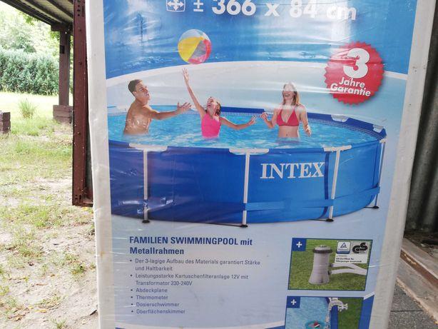 Basen INTEX 366/84 nowy kompletny!
