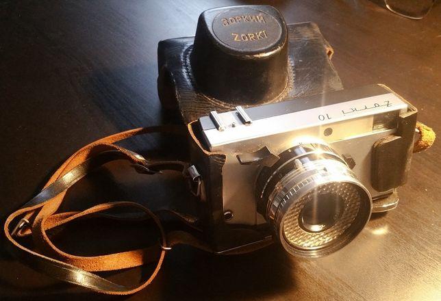 Aparat fotograficzny analogowy ZORKI 10