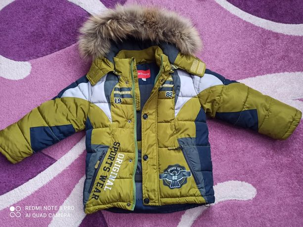 Продам куртку детскую зимнюю на 4 года 104 см