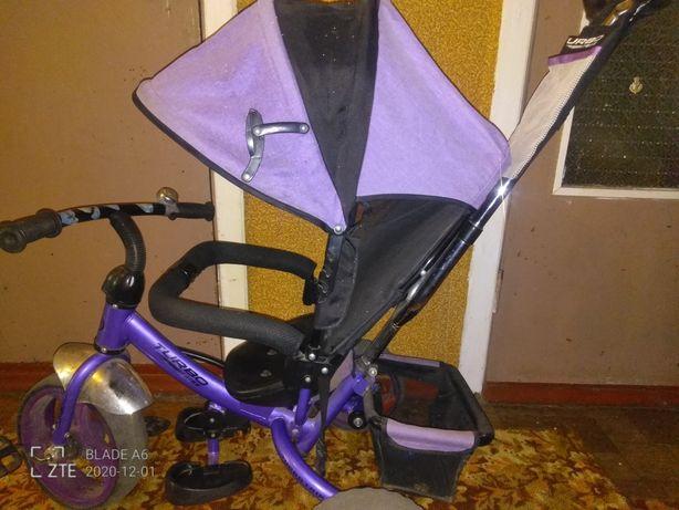 Трёх колёсный велосипед 2 в 1