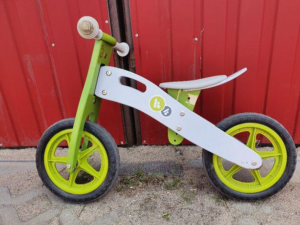 Rowerek biegowy drewniany