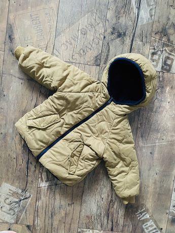 Dwustronna kurtka zimowa, dziecięca, Zara, r.92