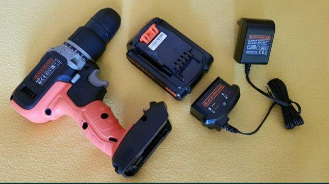 Nowa akumulatorowa wiertarko-wkrętarka z udarem Black Decker