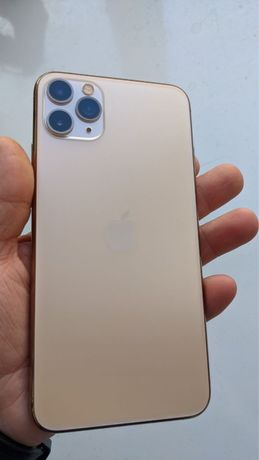 Iphone 11 pro max 256 Gold Neverlock Гарантия 6мес Идеал