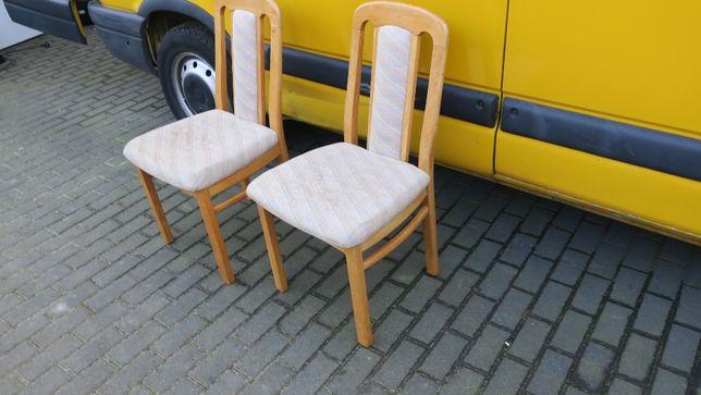 Krzesła drewniane 2 szt.