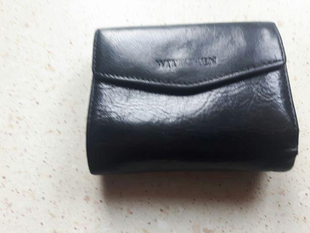 witchenn portfel portmonetka czarna damski używany