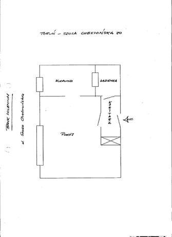 Kawalerka do wynajęcia 38 m2