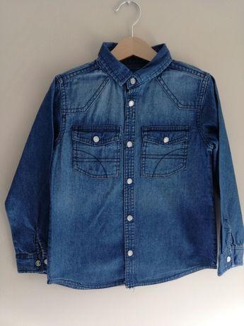 116 Koszula jeans model Zara