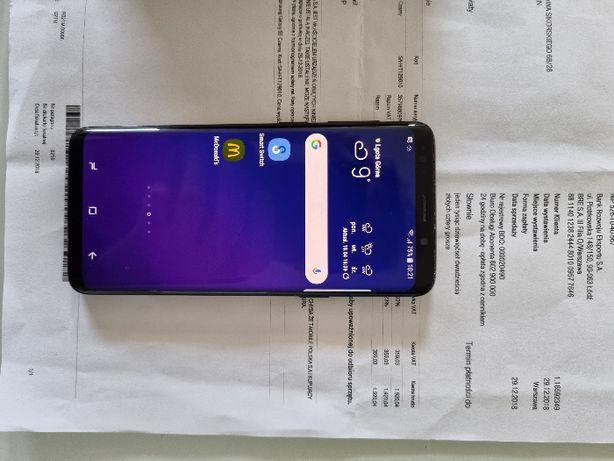 Samsung Galaxy S9 Czarny SM-G960F/DS oryginał faktura zakupu BUDS LIV