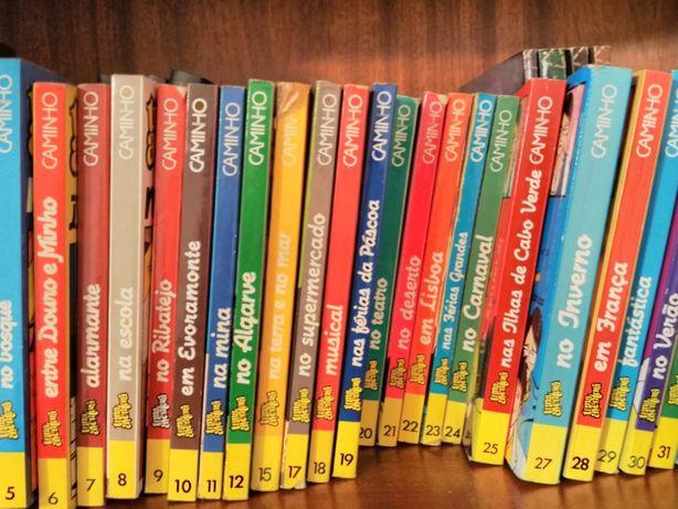 Livros de aventuras (várias coleções)