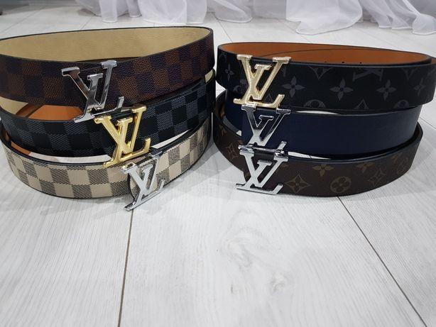 Pasek Louis Vuitton wzory skóra naturalna XS S M L XL XXL od 65cm-130c