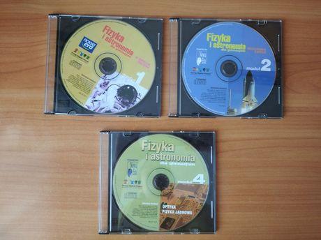 Fizyka i astronomia 1, 2, 4 - płyty