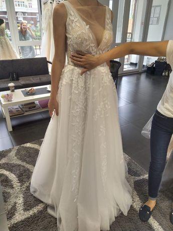 Свадебное платье!+платье на замену+туфли и сумочка