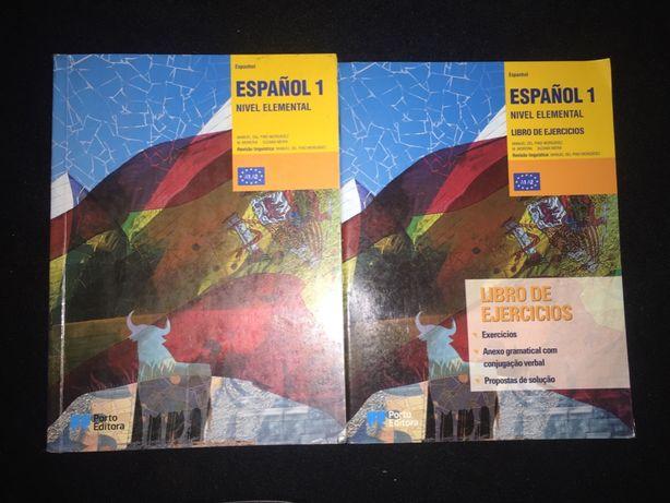 Livros de espanhol nível 1